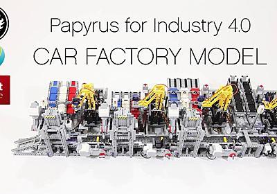 Teslaは見習うべきかも…レゴで作った、レゴのクルマ組立工場 | ギズモード・ジャパン