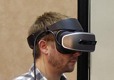 HoloLensの技術を糧に、LenovoがMR用HMD - 日経テクノロジーオンライン