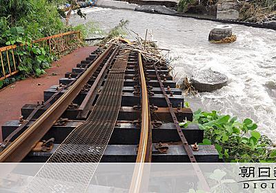 久大線、今年度中に全線再開 JR九州が費用負担へ:朝日新聞デジタル