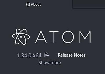 GitHub、フリーのコードエディター「Atom 1.34」を正式公開 - 窓の杜