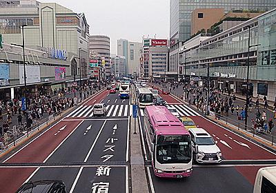 その昔、新宿南口の改札前を京王線が走っていた - デイリーポータルZ