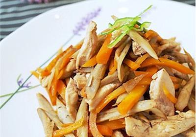 #しっとりやわらか。鶏むね肉のきんぴら風炒めのレシピ - ひろさんきっちん♪〜味付け簡単!魔法なレシピ〜