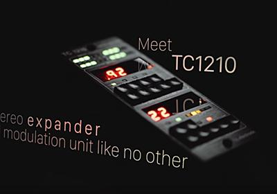 TC Electronic Announced TC1210-DT Plugin With A Hardware Controller!