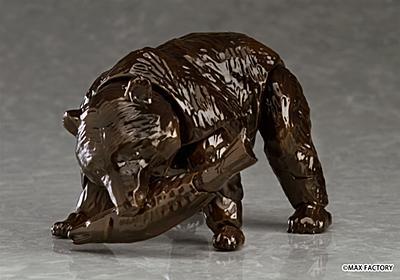 「figma ヒグマ」本当に予約受付開始! 木彫りの熊がアクションフィギュアに - ねとらぼ