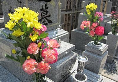 お墓に花を供える意味は無常なる心を満たす感謝の意   もう迷わない!墓石・納骨の事がよくわかるサイト