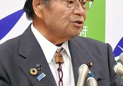 北村大臣「責任取る、は一般論」 質問漏洩巡る発言釈明:朝日新聞デジタル