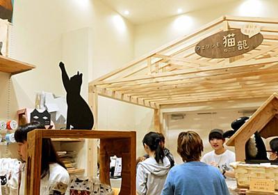 100以上の猫グッズが集結した猫好きの天国、「フェリシモ猫部」最大規模の実店舗がオープンしたので行ってきました - GIGAZINE