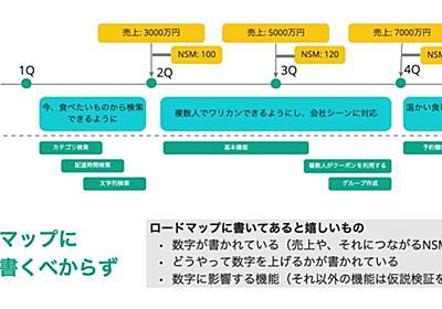 ロードマップに機能を書くべからず|小城久美子 / ozyozyo|note