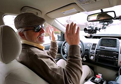 Googleの自動運転カーほぼ完成、最初のドライバーを乗せて手ぶら走行中のムービー公開 - GIGAZINE