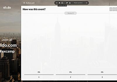 イベント運営に便利なsli.do の使いこなしかた – Shunya Ueta – Medium