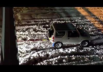 関東大雪!ジムニーが牽引した車とは、 - YouTube