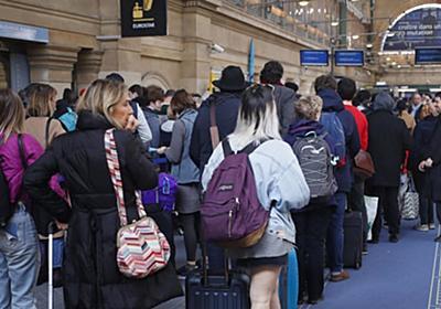 高速鉄道ユーロスター使わないで 4月3日まで税関「スト」で | 共同通信