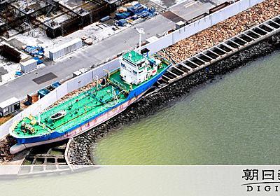 海遊館への海水供給ストップ 運搬船が台風21号で座礁:朝日新聞デジタル