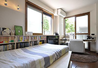 6畳ワンルームに1000冊の本。「本に埋もれる」ではなく「本と暮らす」ための賃貸DIY (1/2) - ねとらぼ