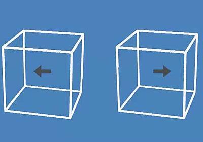 「動いてるでしょ!?」「信じられない」 箱がすごい動いて見えるのに動いてない錯視GIFに反響(1/2 ページ) - ねとらぼ