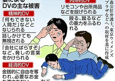 「妻の暴力が怖い…」増える男性のDV被害 プライド邪魔して相談できず(1/3ページ) - 産経ニュース
