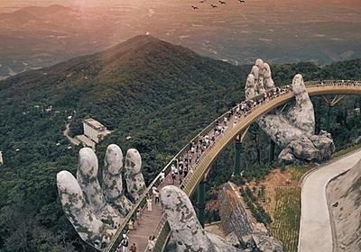 ベトナムで新しく完成した橋、フィクションのような壮大さだと話題に : 海外の万国反応記@海外の反応