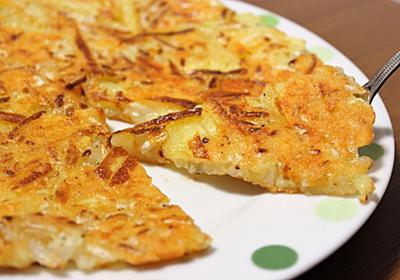 簡単・節約レシピ!おつまみにもおススメ「じゃがいもともやしのチーズガレット」 - ヒサログ