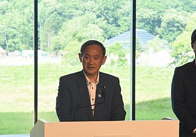 都にチクリ? 菅官房長官、コロナ再拡大は「東京問題」 - 毎日新聞