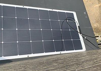【千葉停電】弟が3万で買ったソーラーパネルを邪魔だと思ってたけど、台風で停電になって充電、無線LAN、扇風機をまかなっている - Togetter