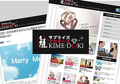キメドキ サプライズプロポーズの情報メディア