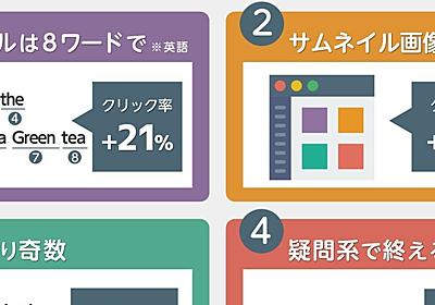 15万記事を分析してわかった、クリック率を20%高める「記事タイトル」3つの法則とは?|アプリマーケティング研究所