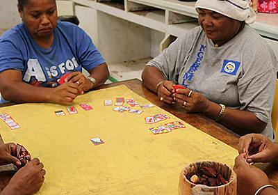 南の島国パラオは花札で遊ぶし演歌も歌う :: デイリーポータルZ