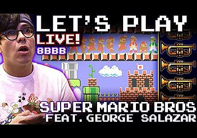 Let's Play - Super Mario Bros. LIVE w/FULL ORCHESTRA! (ep.1) - YouTube
