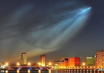 ロシアの衛星打ち上げが綺麗すぎてヤバイ - ゴールデンタイムズ