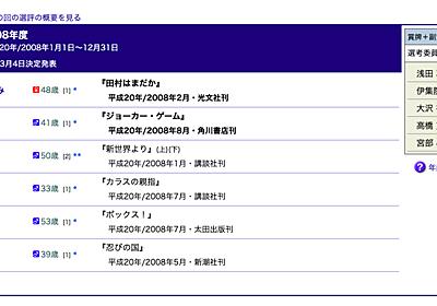 百田尚樹と文学賞の三年間 - lady_jokerのはてなブログ