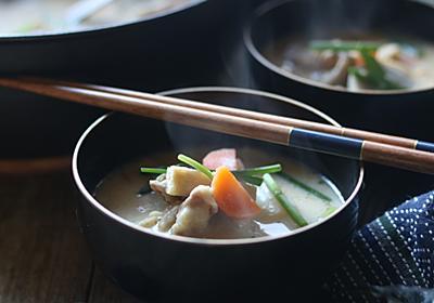 粕汁のレシピ~私はコレを食べることで寒い冬を乗り切ってきました【ホマレ姉さん】 - メシ通   ホットペッパーグルメ