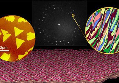 ホウ素が準平面構造を持つ次世代材料「ボロフェン」を大きく結晶化することに成功 - GIGAZINE