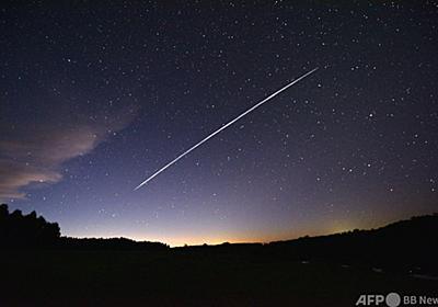 スペースX、低軌道「独占」か 競合他社が懸念 写真2枚 国際ニュース:AFPBB News