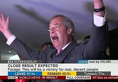 「イギリス国民が世界恐慌を起こしてでもEU離脱を希望した理由」 イギリス在住のめいろま氏が語る分かりやすい解説 | netgeek