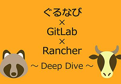 ぐるなび×GitLab×Rancher ~Deep Dive~ - ぐるなびをちょっと良くするエンジニアブログ