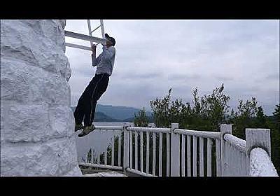 【YouTube】大浜の灯台で懸垂 令和2年5月31日