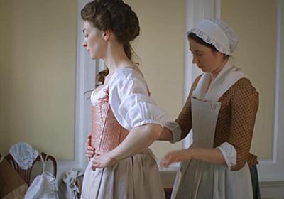 How women got dressed in 18th century England (VIDEO).
