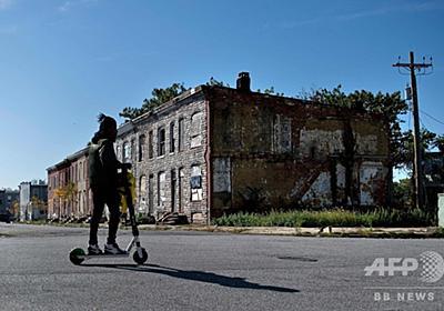 「都会のアパルトヘイト」の絶望、米メリーランド州ボルティモア 写真15枚 国際ニュース:AFPBB News
