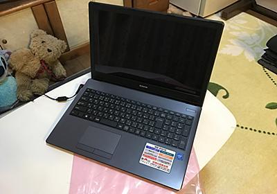 実家のために mouse のノートパソコンを買った - だるろぐ