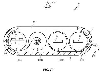 アップル、ディスプレイを巻物状に丸めてボディ内へ格納するデバイス--特許取得 - CNET Japan