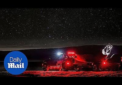 Nissan Navara Dark Sky gives astronomers access to prime locations - YouTube