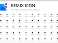 UI用のアイコンが1,400種類以上!商用でも完全無料で利用できる、シンプルなアイコン素材 -Remix Icon | コリス