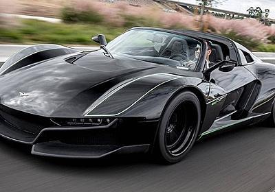 750kgの軽量ボディに700hpターボのスーパーカー、「ビースト」で「ブラックバード」 | レスポンス(Response.jp)