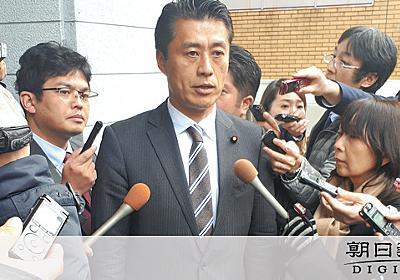 細野氏、かつてバラマキ批判の二階派へ 「政策のため」:朝日新聞デジタル