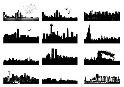 Photoshop Skyline Brushes - Free Photoshop Brushes at Brusheezy!