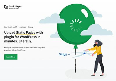 Static Pages - Upload Static HTML Pages to WordPress - Designmodo