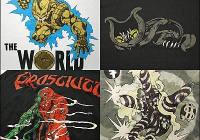「ジョジョの奇妙な冒険」をモチーフにしたTシャツが登場、デザインは全部で7種類 - GIGAZINE