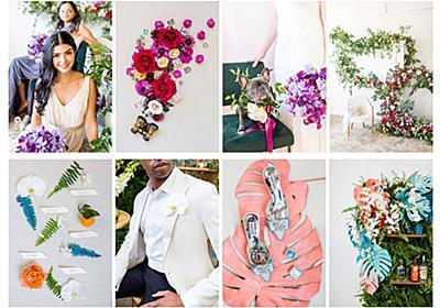 2019年の結婚式の人気配色カラーパレット4つ、PANTONEから発表 - PhotoshopVIP