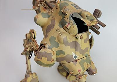 1/20 Ma.K スーパージェリー制作完成 Super Jerry paint and build - digital conception