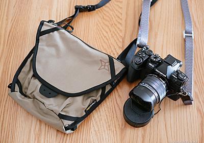 登山用カメラバッグにサコッシュとしても便利なパーゴワークス「スイング L+インナーカメラバッグ」 - I AM A DOG